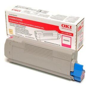 Toner OKI C5600/C5700 Magenta - 43381906