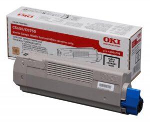 Toner OKI C5650/C5750 Preto - 43865708