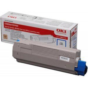Toner OKI C5850/C5950/MC560 Cyan - 43865723