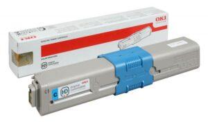 Toner OKI C510/C530/MC561 Cyan - 44469706
