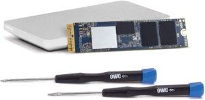 Upgrade OWC SSD Aura 480GB M.2 PCIe Kit NVMe Mac Pro