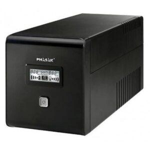 UPS PHASAK 2000VA C/ LCD RJ45+USB - PH 9420