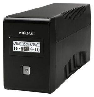 UPS PHASAK 650VA C/ LCD RJ45+USB - PH 9465
