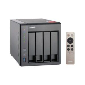NAS QNAP 4 baías P/ HDD 3.5 -  TS-451+-2G