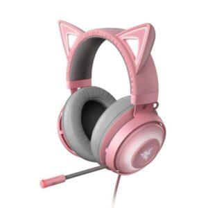 Headset RAZER Kraken Edição Kitty Quartz