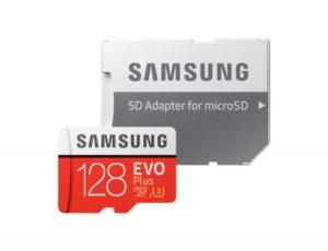 CARTÃO MEMÓRIA SAMSUNG Micro SD Card EVO Plus 128GB Class10