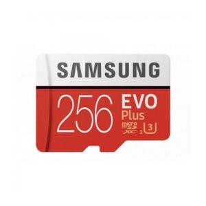 CARTÃO DE MEMÓRIA SAMSUNG Micro SD Card EVO Plus 256GB