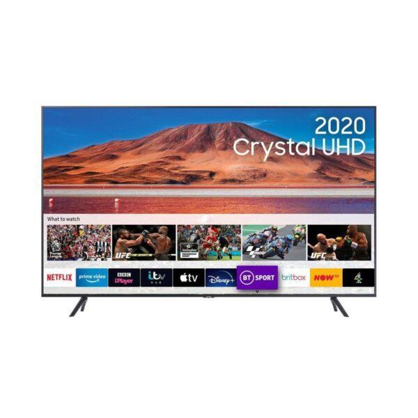 "Televisão SAMSUNG 50"" TU7105 4K UHD SmartTV - UE50TU7105KXXC"