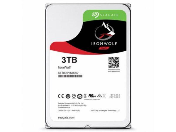 DISCO SEAGATE IronWolf 3TB SATA III 64MB 7200 - ST3000VN007