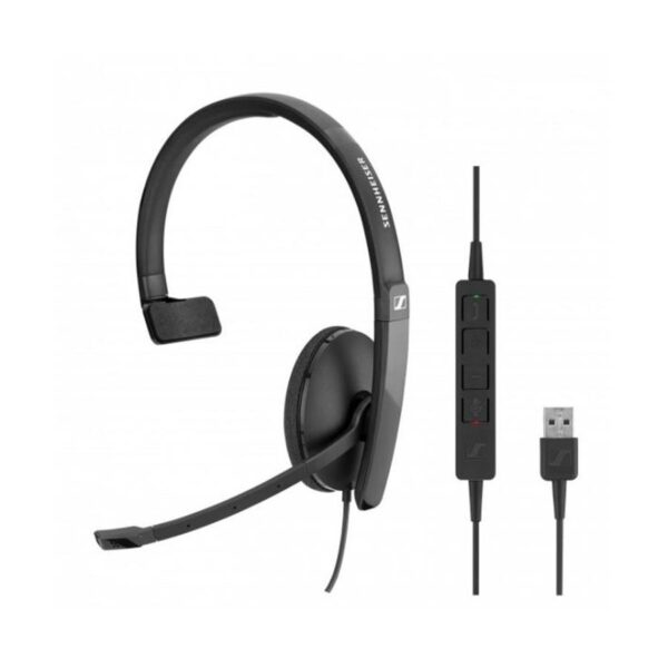 SENNHEISER SC 130 Mono Headset USB Preto - 508314