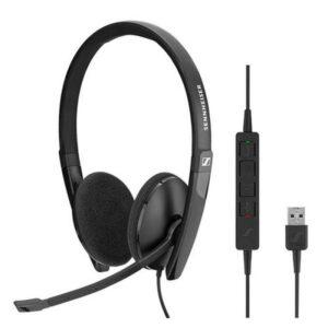 Headset SENNHEISER SC 160 USB Preto - 508315