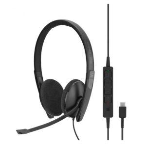 Headset SENNHEISER SC 160 USB-C Preto - 508354