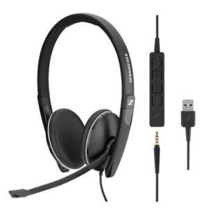 Headset SENNHEISER SC 165 USB Preto - 508317