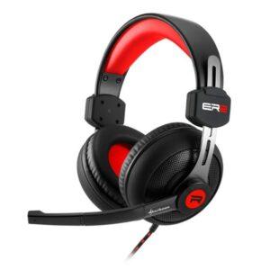 Headset SHARKOON Rush ER2 Gaming Stereo Preto / Vermelho