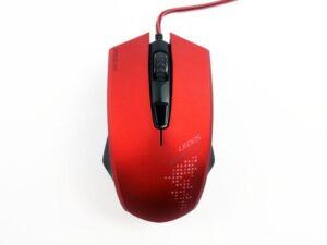 RATO SPEEDLINK LEDOS Gaming Vermelho