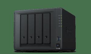 NAS SYNOLOGY 4 baías P/ HDD 3.5 - DS918+