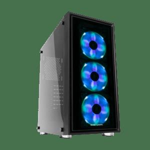 CAIXA MARS GAMING MC7 RGB Vidro Temperado
