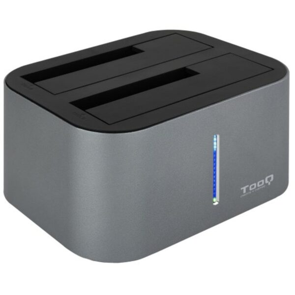 Docking Station TOOQ Duo Clone USB 3.0 Cinzento - TQDS-805G