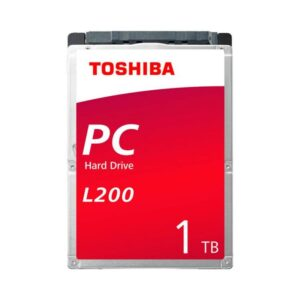 "Disco TOSHIBA 1TB SATA 2.5"" 128MB L200 - HDWL110UZSVA"