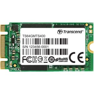 SSD TRANSCEND 64GB M.2 SATA Type 2240 - TS64GMTS400
