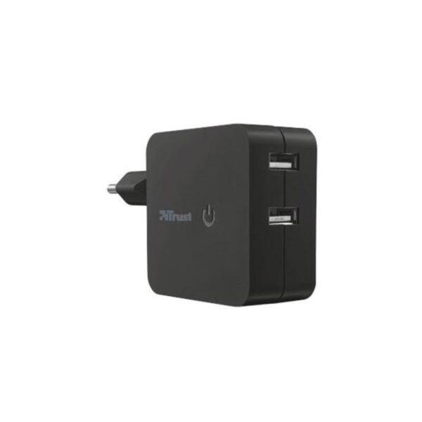 Carregador de Parede TRUST com 2 portas USB - 19158