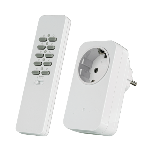 Smart Home TRUST AC-1000R Tomada Inteligente Wireless C/ Comando