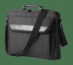 "Mala TRUST Atlanta Carry Bag 17.3"" Preto - 21081"
