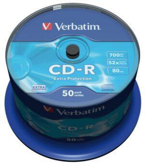 CDR VERBATIM 52X 700MB Pack 50 Unidades