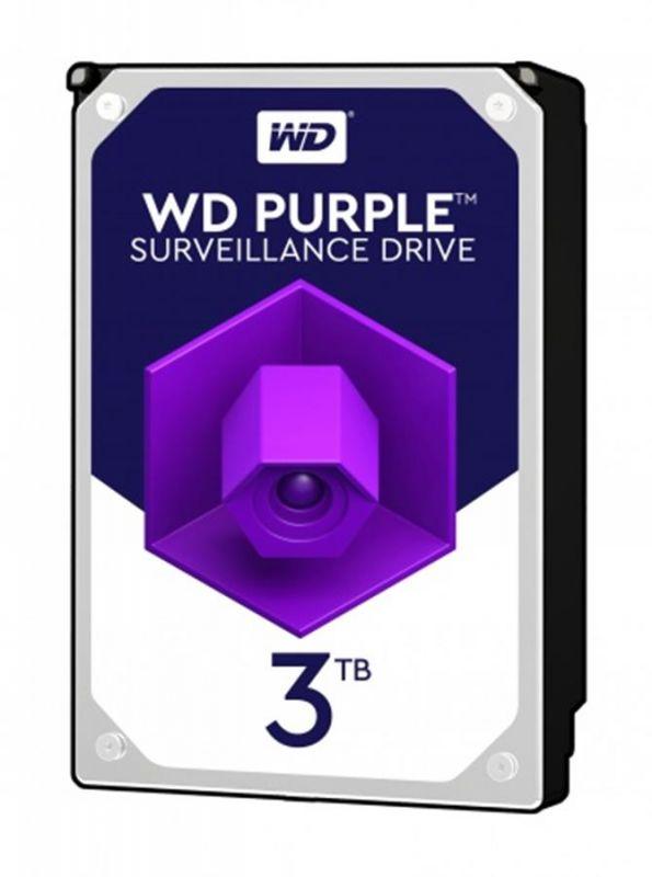 DISCO WESTERN DIGITAL 3TB SATA III 64MB Purple - WD30PURZ