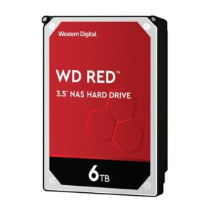 Disco WESTERN DIGITAL 6TB SATA III 256MB NAS Red - WD60EFAX