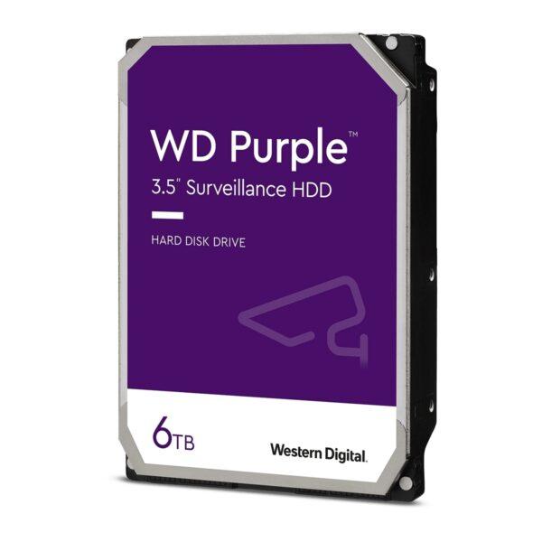DISCO WESTERN DIGITAL 6TB SATA III 128MB Purple