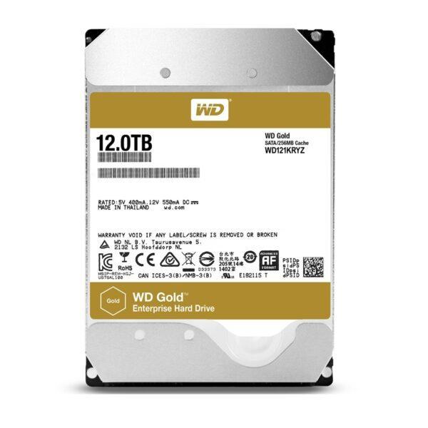 DISCO WESTERN DIGITAL 8TB SATA 256MB Gold - WD8004FRYZ