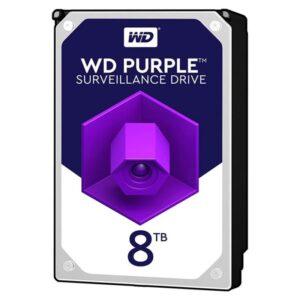 Disco WESTERN DIGITAL 8TB SATA III 256MB Purple - WD81PURZ