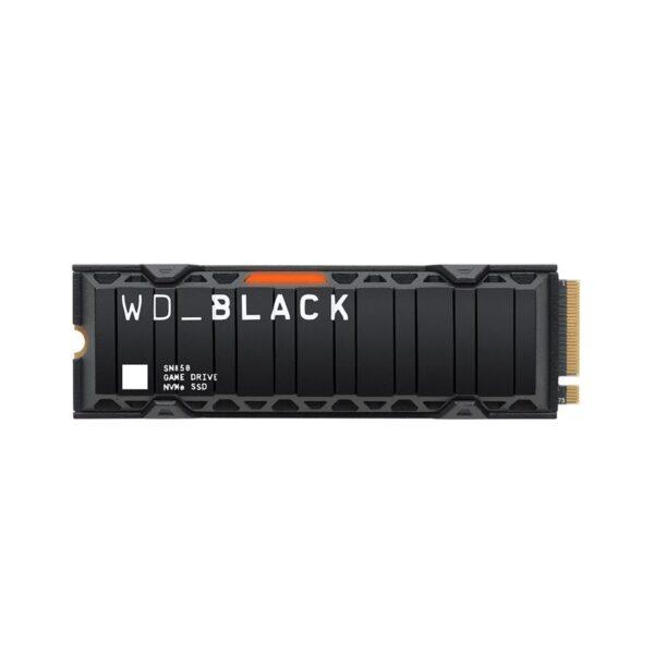 SSD WESTERN DIGITAL SN850 2TB M.2 2280 Preto NVMe Gen4
