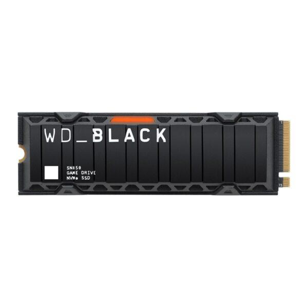 SSD WESTERN DIGITAL SN850 500GB M.2 2280 Black NVMe Gen4 Dissipador