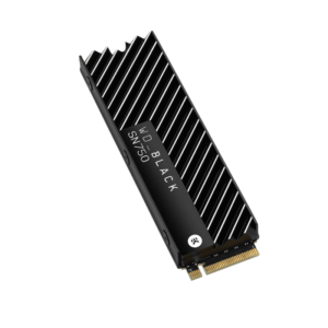SSD WESTERN DIGITAL SN750 500GB M.2 NVMe Black C/ Heatsink