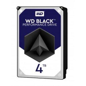 DISCO WESTERN DIGITAL 4TB SATAIII 256MB 7200RPM Black