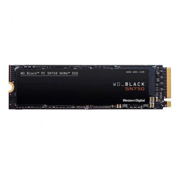 SSD WESTERN DIGITAL SN750 500GB M.2 2280 Black 3D NAND NVMe