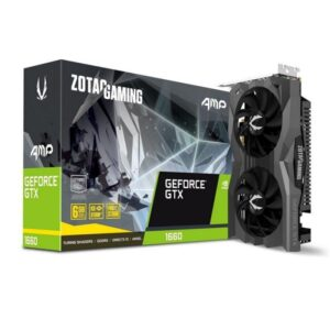 Placa Gráfica ZOTAC GeForce GTX 1660 AMP 6GB DDR5