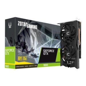 Placa Gráfica ZOTAC GeForce GTX 1660 Twin Fan 6GB