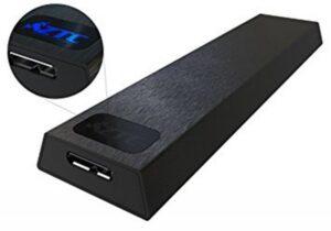 Caixa Ext. ZTC M.2 NGFF SSD USB 3.0 - ZTC-EN004-BK